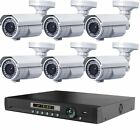 LONG DISTANCE WIRELESS 2,500FT Outdoor NightVision 1200TVL Camera System