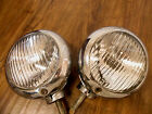 1949 1950 GM ORIGINAL MERCURY FOG LIGHT ACCESSORY DRIVING ROAD LAMP SET