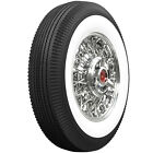 """Universal 670-15  Bias Ply Tire with a 3 1/4"""" White Wall Ford Chevy"""