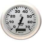 "Faria Dress White 4"" Tachometer w/Hourmeter - 7,000 RPM (Gas - Outboard)"