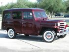 Willys : Station Wagon Base 1951 willys station wagon base 2.2 l