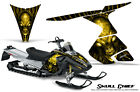 SKI-DOO RT MACH Z MX Z 05-09 SNOWMOBILE CREATORX GRAPHICS KIT SKULL CHIEF Y