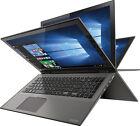 "Toshiba P55W-C5208-4K Satellite Radius 15.6"" 4K Ultra HD Touch-Screen Laptop -"