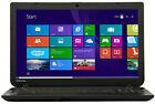 NEW Toshiba Satellite15.6 Quad Core DVD RW 4GB 1TB HD Win 8.1 HDMI C55D-B5102