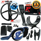 """XP Deus Metal Detector w/ FX-02 Wired Backphone, Remote and 11"""" X35 Search Coil"""