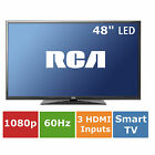 "RCA 48"" Smart TV LED 1080P HDTV 60Hz Television Flat Screen, SLD48G45RQ"