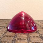 1954 NOS Glo-Brite Stop And Tail Light Lens #5945026