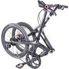 20in Full Carbon Folding Bike Shimano Disc Frame Crankset Fork wheels Gloss Stem