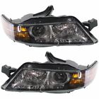 New Set of 2 Headlights Lamps Driver & Passenger Side AC2503111, AC2502111 Pair