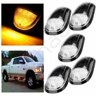 5pcs Clear Lens Amber Cab Marker Clearance Lights for 03-16 Dodge Ram 1500 2500
