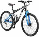 """29"""" Men's Mountain Bike Mongoose Ledge Aluminum Frame Shimano Disk Brake New"""