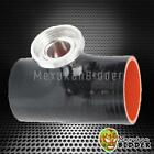 """Black SSQV SQV Style Turbo Blow Off Valve 3.0"""" Reincforced Silicone Pipe Adapter"""