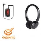 "Deteknix Wire-Free Wireless Headphones W3 1/8"" Plug for Metal Detector 1502.102"