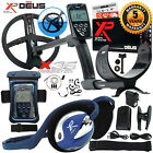 """XP Deus Metal Detector with Wired Backphone, Remote, 9"""" Coil and Waterproof Kit"""