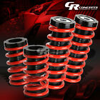 """LOWERING 1-3""""ADJUSTABLE SCALE COILOVER+RED COIL SPRINGS FOR 00-05 ECLIPSE 3G"""