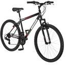 "26"" Roadmaster Adult Mens Mountain Bike Black Red Bicycle 18-Speed Alloy Wheels"