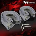 2X TURBO CHARGER SILVER FIBERGLASS HEAT-WRAP BLANKET T25/T28 GT25 GT28 GT30 GT35