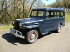 Willys: 1950 Willys Wagon - NO RESERVE 1950 willys 2 wd station wagon no reserve