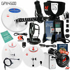 Minelab GPX 4500 Metal Detector Bundle for Gold Prospecting w/ 3 Search Coils