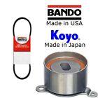 BANDO TIMING BELT + KOYO TENSIONER BEARING KIT FOR HONDA INTEGRA TYPE-R DC2