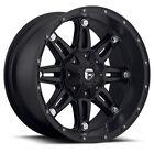 "17"" +1 Fuel Hostage D531 Matte Black Wheels Rims 5x5.5 Dodge Ram 1500 5 Lug"