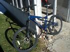 blue Haro Shift 24 speed Bicycle; front rear disc brakes, aluminum frame, bike