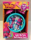 NEW TROLLS Light Up Alarm Clock POPPY COOPER DREAMWORKS Room Decor Figure