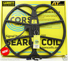 "New CORS GIANT 15""x17"" DD search coil for Garrett AT GOLD + cover + fix bolt"