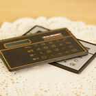 Top Quality Mini Slim Credit Card Solar Powered Small Size Pocket Calculator