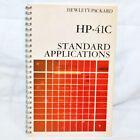 HP-41C Standard Application Manual Hewlett Packard 00041-90018   ----   #8