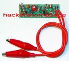 FM VHF Small Clip-On Phone Bug Telephone Tap Spy Transmitter Kit- Build & Save $
