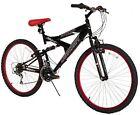 Dynacraft Men's 26 21 Speed Equator Bike, 18 /One Size, Black/Red