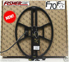 """New NEL THUNDER 14.5""""x10.5"""" DD search coil for Fisher F70/F75 + cover + fix bolt"""