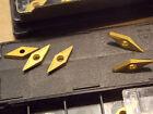 "Guhring SA844596 carbide Lathe Turning insert 35 degree 1/4"" (10 pcs) screw on"