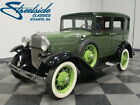 Ford Model A  COLLECTOR-OWNED SLANT WINDSHIELD SEDAN, GR8 COLOR COMBO, SOUTHERN CAR, I4, 3-SPD