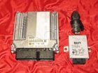 BMW E46 3 series 1.6i / ti N46 Engine BASIC CONTROL UNIT DME EWS Key Lock Set
