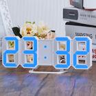 Practical Table Desk Night Wall Digital LED Clock Alarm Watch 24/12 Hour Display