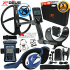 "XP Deus Metal Detector with Headphones, Case, Remote, 11"" Coil & Waterproof Kit"