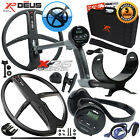 XP Deus Metal Detector Gold & Relic, Hard Case, Backphones and 2 Search Coils
