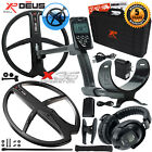 XP Deus Metal Detector Gold & Relic, Hard Case, Headphones, Remote and 2 Coils