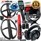 XP Deus Detector w/ MI-6 Pinpointer, WS5 Headphones, Remote Screen & X35 Coils