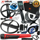 XP Deus Metal Detector w/ MI-6 Pinpointer, Backphones, Remote and 2 X35 Coils