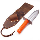 High Quality Brown Leather Sheath Right Sided & Quest Diamond Right Digger