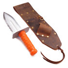 High Quality Brown Leather Sheath Left Sided & Quest Diamond Left Digger Tool