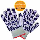 BBQ Grilling Gloves Oven Mitts Pot Holders Heat Resistant to 932* NEW