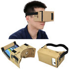 DIY Google Cardboard Valencia Quality 3d Vr Virtual Reality Glasses Android Hot