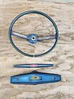 1972 Vintage Mustang Coupe Steering Wheel, Spoke, and Horn Centerpiece Cover