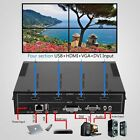 4 Channel HDMI VGA DVI USB Video Processor 2x2 TV Projector Video WallController