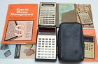 Vintage Texas Instruments Calculator Lot: TI Business Analyst I & II w/ Cases!!!