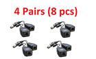 4 Pairs CCTV Coax BNC Connector Video Power Balun Transceiver to CAT5e 6 RJ45